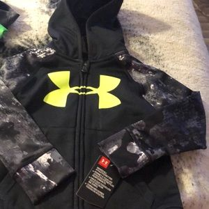 NWT underarmour hooded zip up jacket